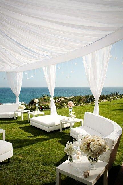 Una zona reservada para una boda muy especial