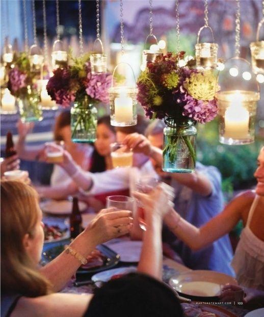 Los detalles colgantes serán parte fundamental de las ideas para bodas