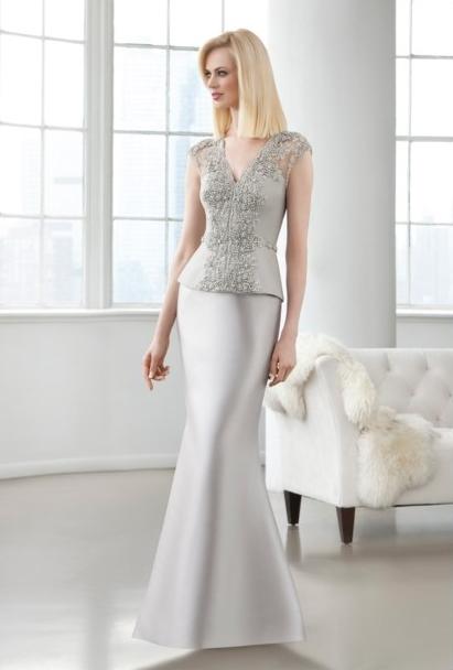 El color plata siempre presente en los eventos más elegantes