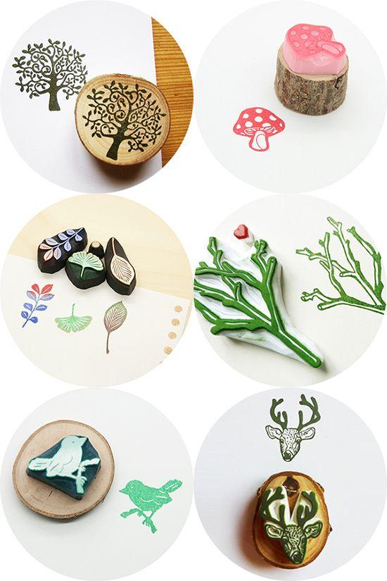 Plantillas para sellos