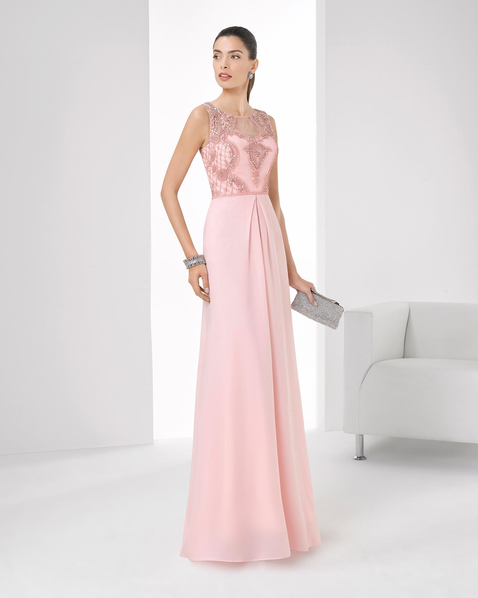 Vestidos Para Una Boda Inspírate En El Color Rosa Cuarzo