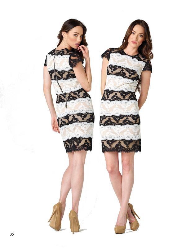 Para acertar en elegancia, la combinación del blanco y el negro siempre estará presente