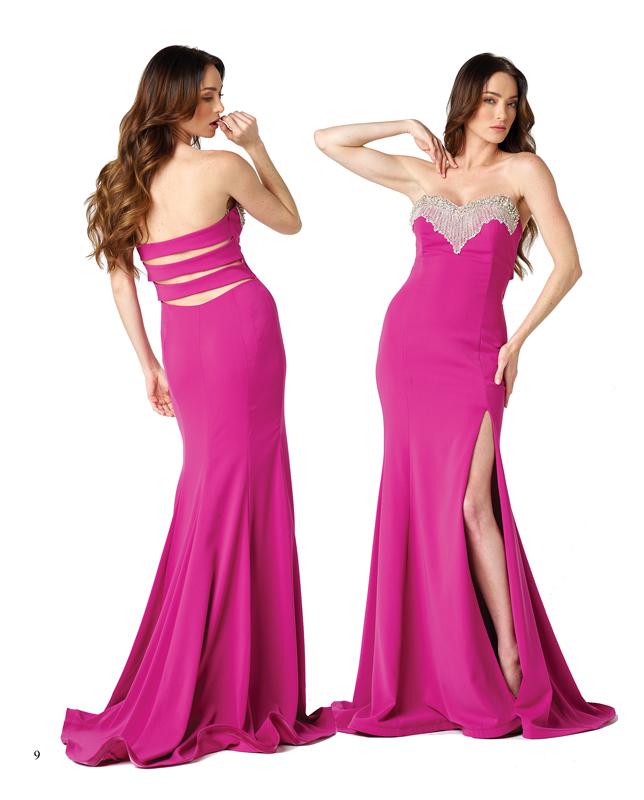 La sensualidad se abre camino en este vestido de Nicole Bakti