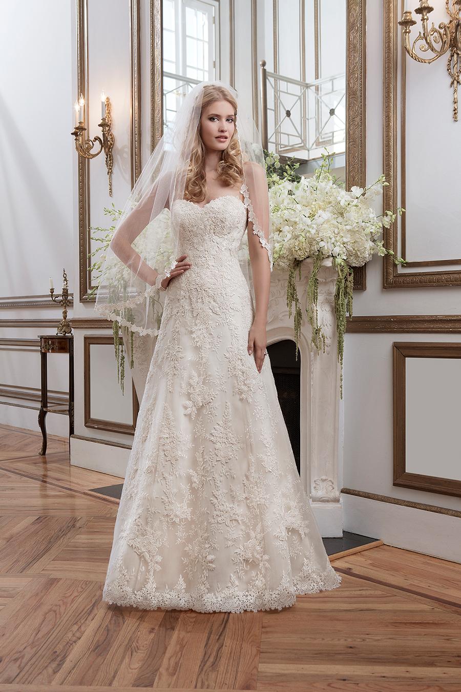 Precioso vestido con bordados