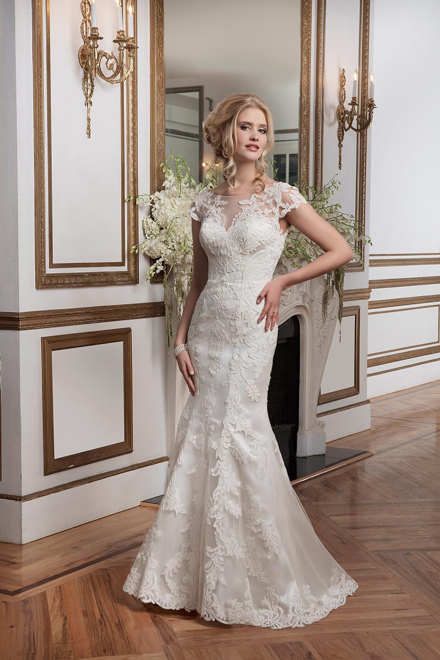 El romanticismo y el buen gusto se juntan en este traje de novia