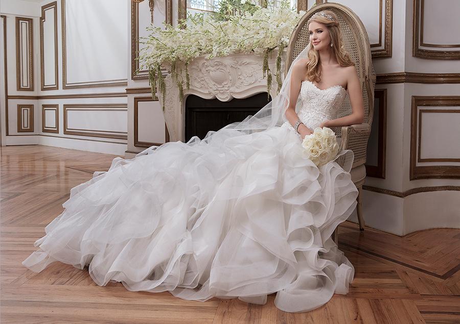 Nueva colección de vestidos de novia Justin Alexander