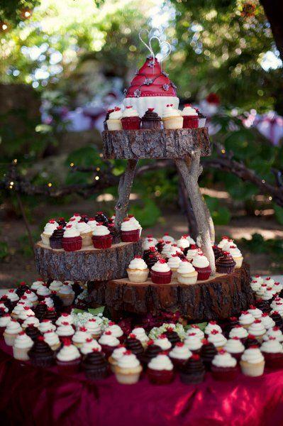 Los cupcakes más rústicos de todos los que hemos visto