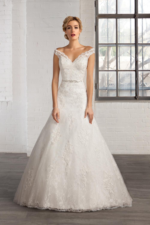 436a14f47 Vestidos para novia - Los más románticos del 2016