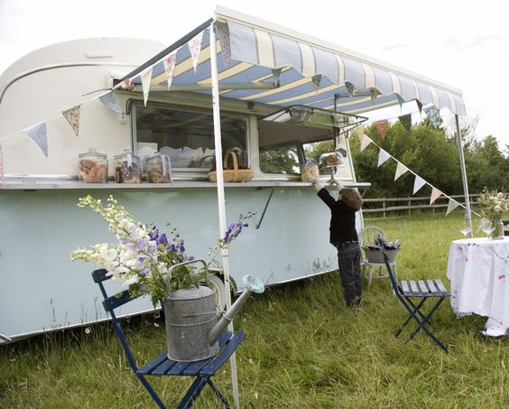 Un Food-Truck de estilo vintage