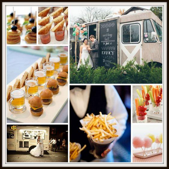 Menú sencillo para las bodas más modernas