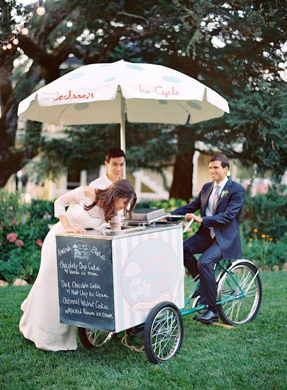 El carrito de los helados para un postre muy veraniego