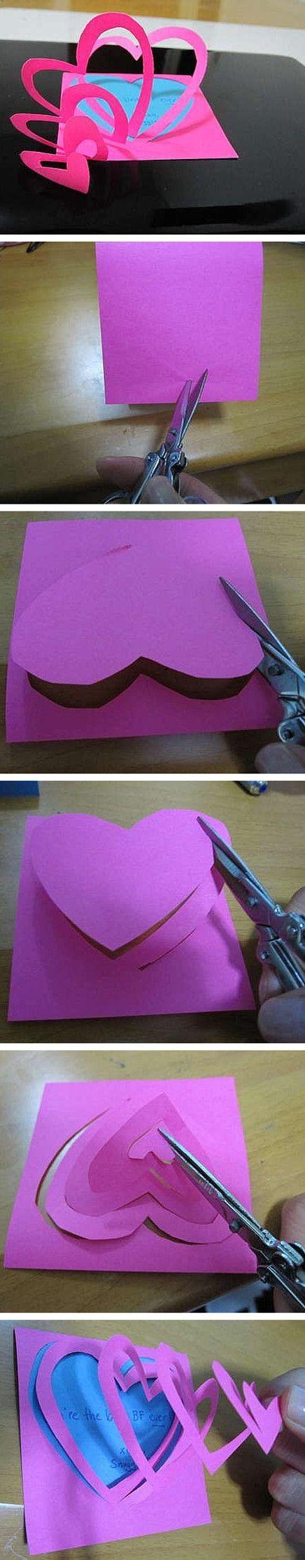 Haz tu propia tarjeta de San Valentín