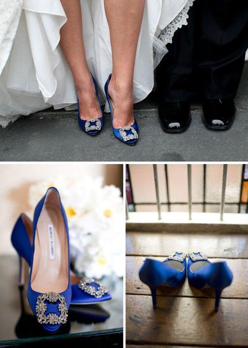 Zapatos Manolos para novias