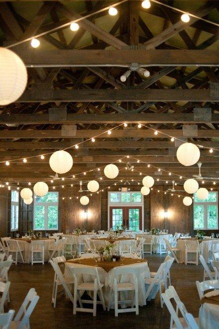 Lámparas esféricas para una decoración de bodas perfecta