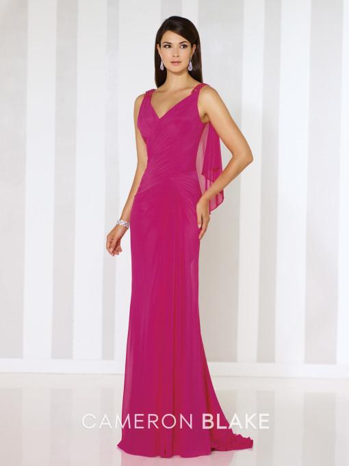 Un vestido llamativo, con un color muy favorecedor