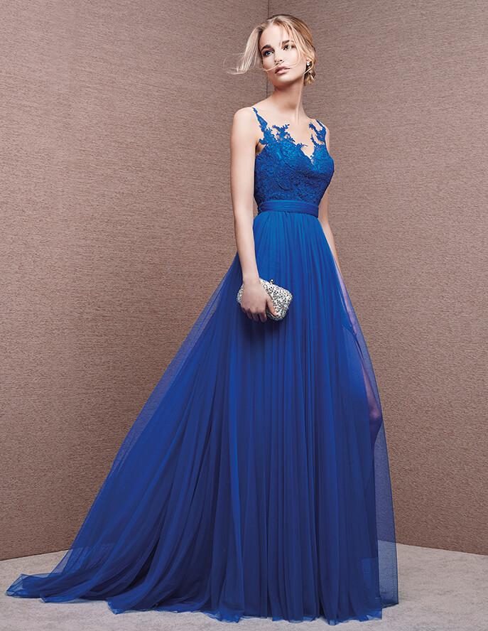 Vestidos De Fiesta Largos Descubre Los Mejores En Color Azul