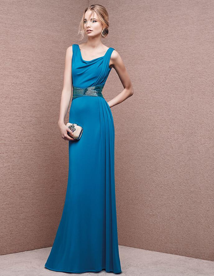 El azul turquesa también destacará como ejemplo de elegancia