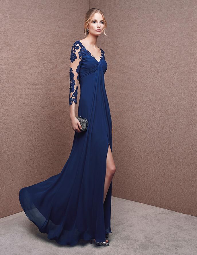 Vestidos elegantes con abertura en las piernas