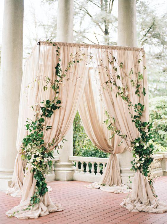 Decoración del arco de tu boda