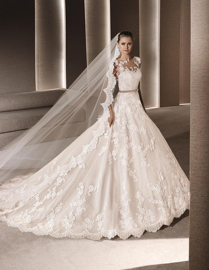 Vestido princesa de La Sposa