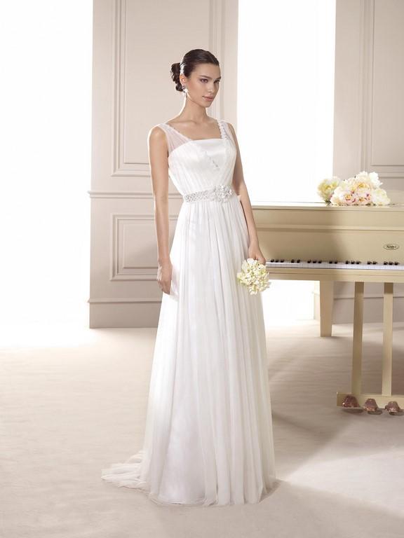 Vestido vaporoso de Fara Sposa