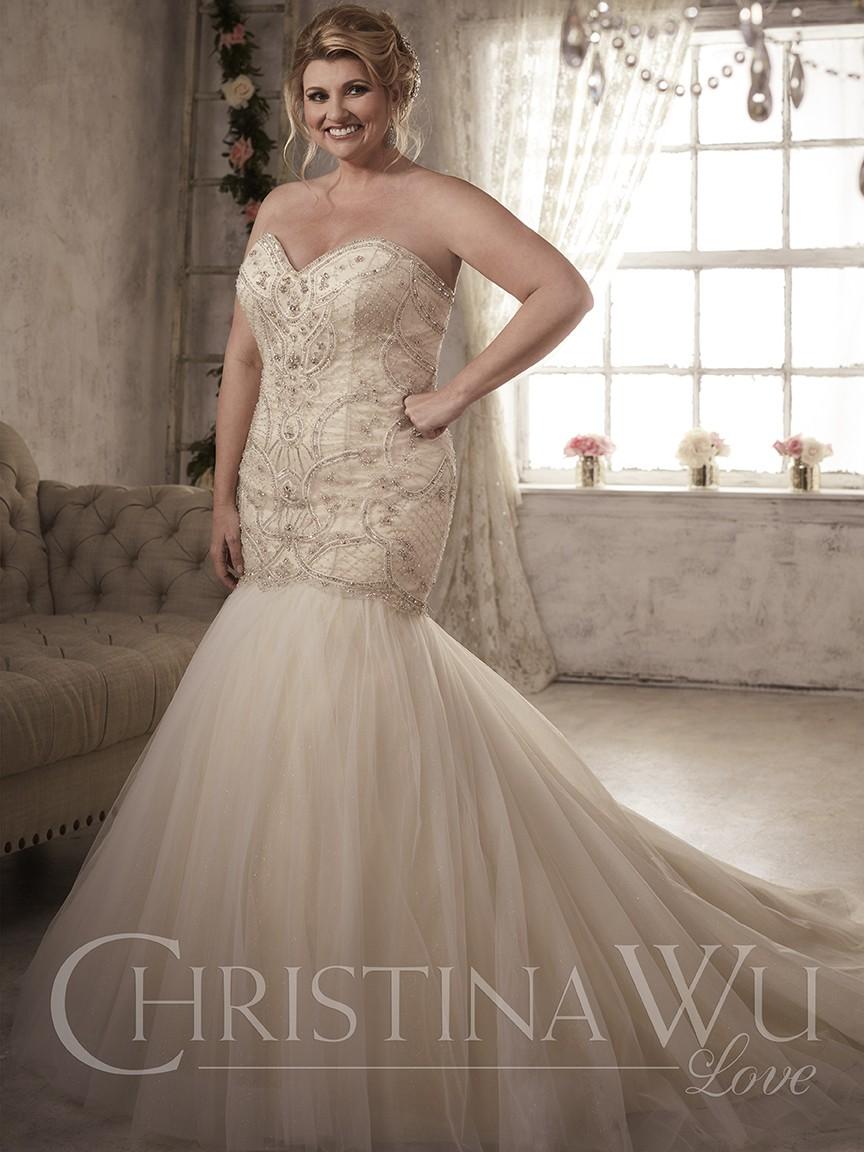 La tendencia del color llega a los vestidos de novia más elegantes