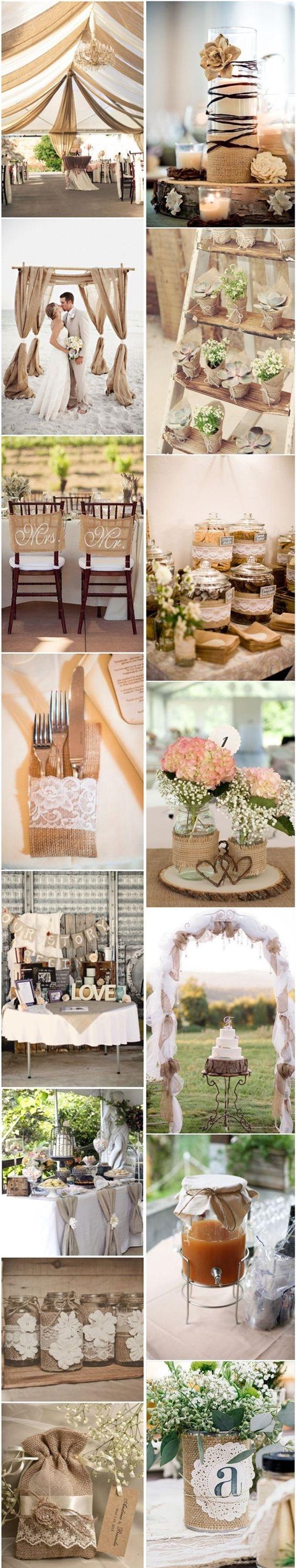 Ideas para tu boda rústica