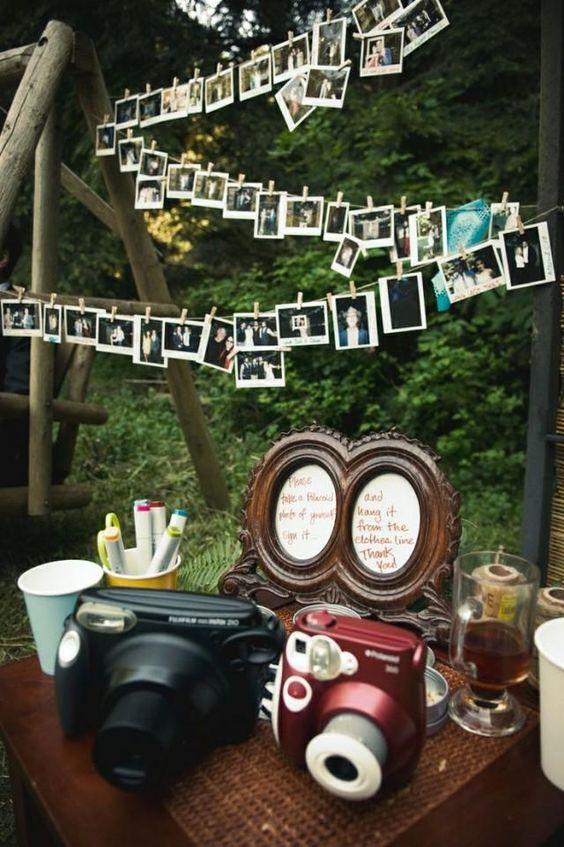 Colocación de las mesas y los invitados