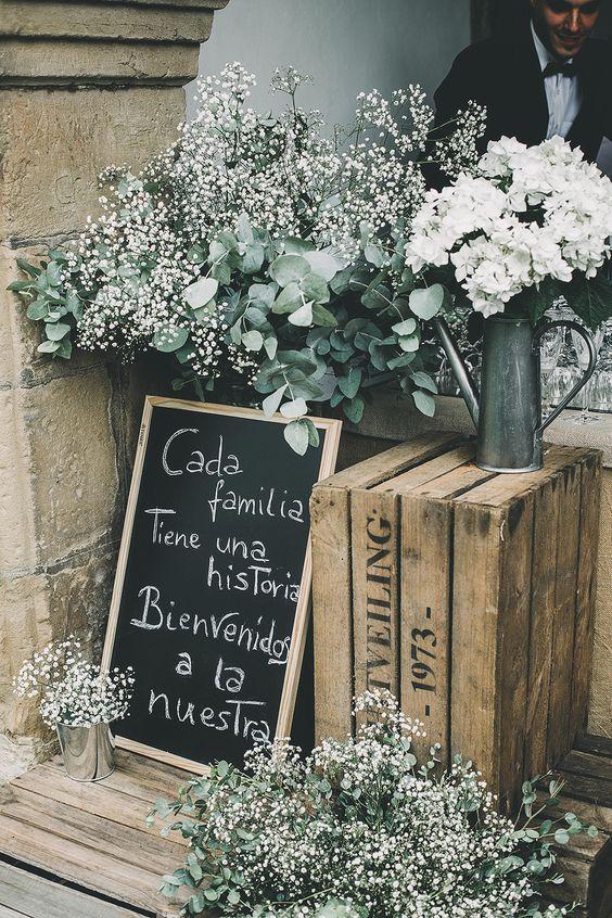 Una bienvenida perfecta para una boda ideal