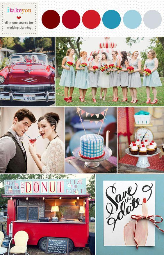 Combinar colores en tu boda