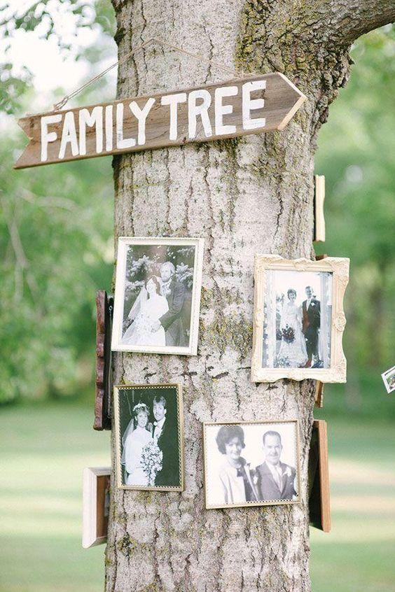 Porque los recuerdos siempre estarán presentes en la decoración de boda