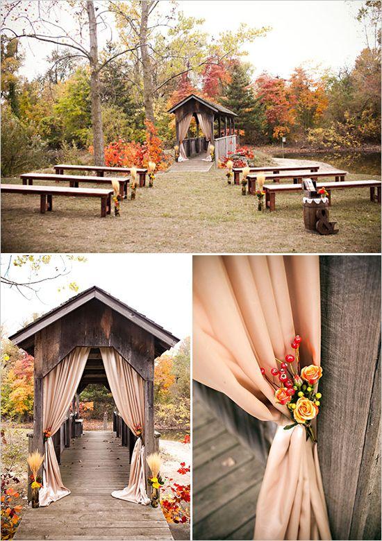 Un ambiente romántico y natural para casarse