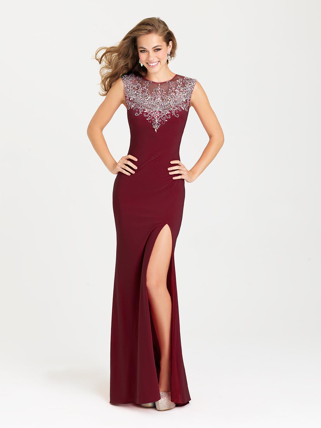 Vestidos De Gala Largos Con Corte En La Pierna Promo Code For 80dd4 059c6