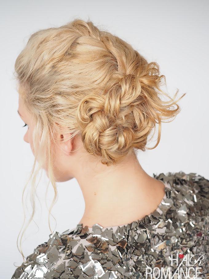 Recogido perfecto para novias con cabello rizado