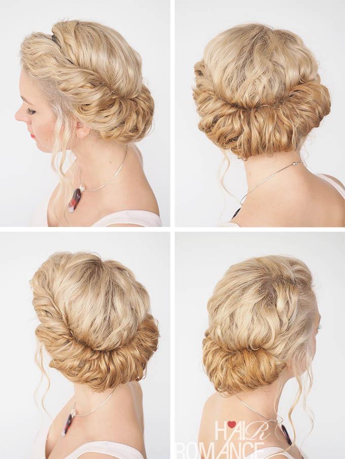 Un peinado con estilo griego