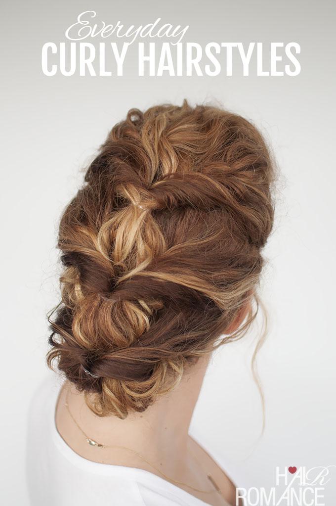 Peinado elegante y fácil para las novias