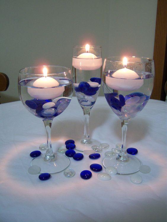 Una perfecta decoración de las mesas de boda