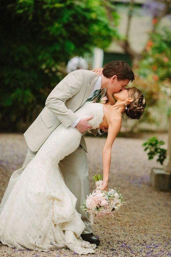 Un beso así culmina un gran día