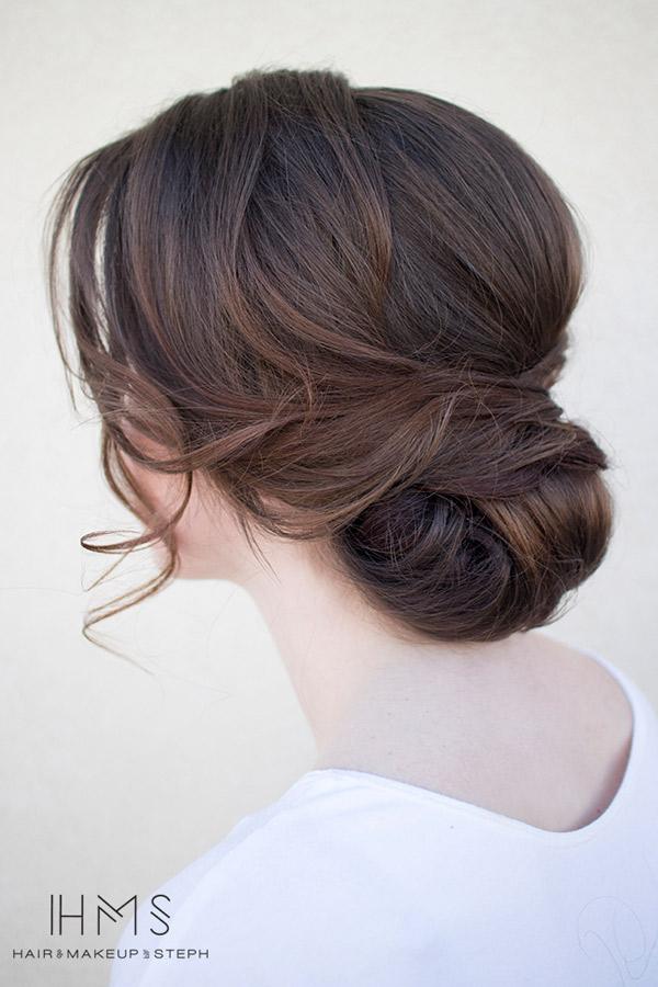 Para todas las novias que prefieren un peinado sencillo