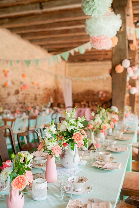 Melocotón y menta para las bodas más románticas