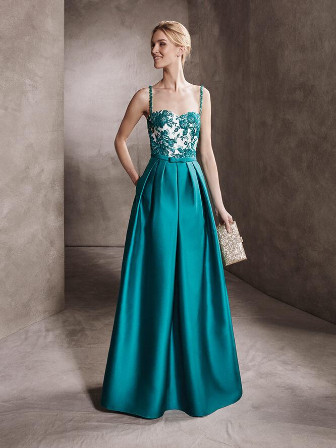 Un precioso vestido para las invitadas 2017 más elegantes