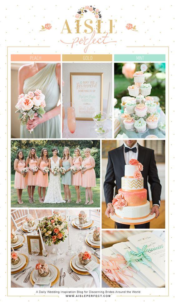 Colores suaves y pastel que no faltarán en tu boda