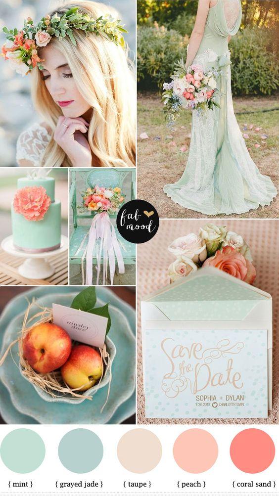 Cómo combinar los colores en nuestra boda