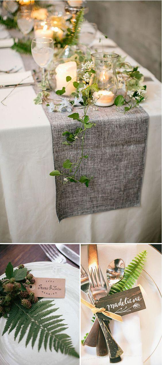 Las mesas y su decoración más especial