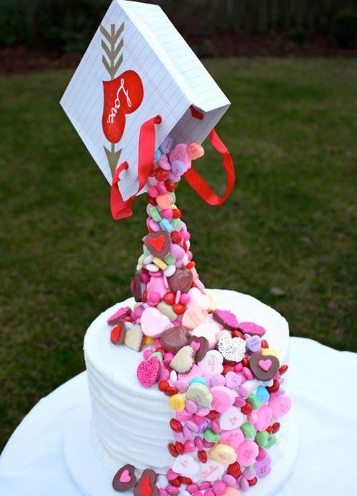Un poco de amor para esta tarta