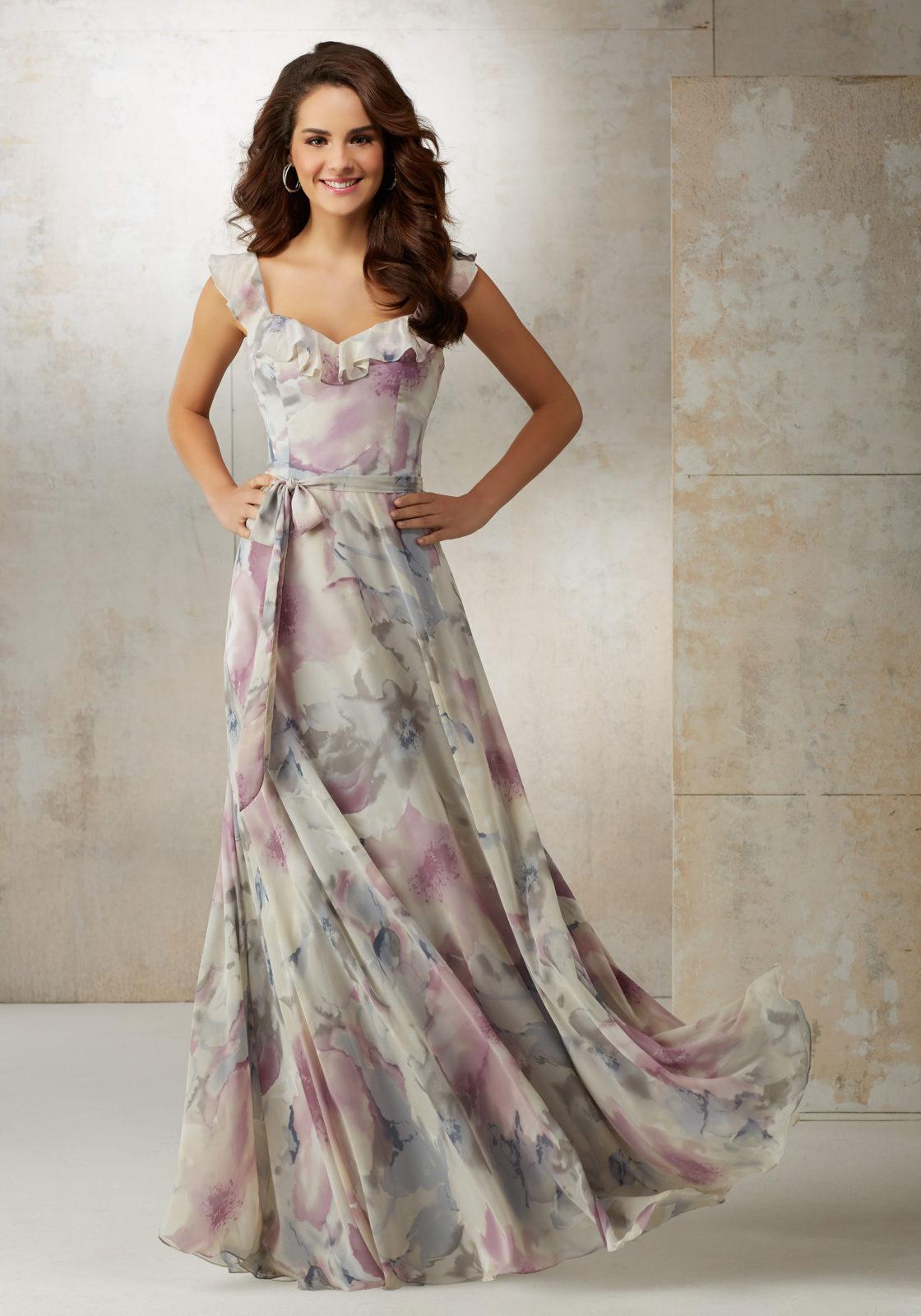 Precioso vestido para las damas más modernas