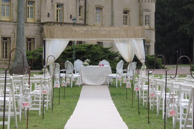 decoracion para boda en exterior