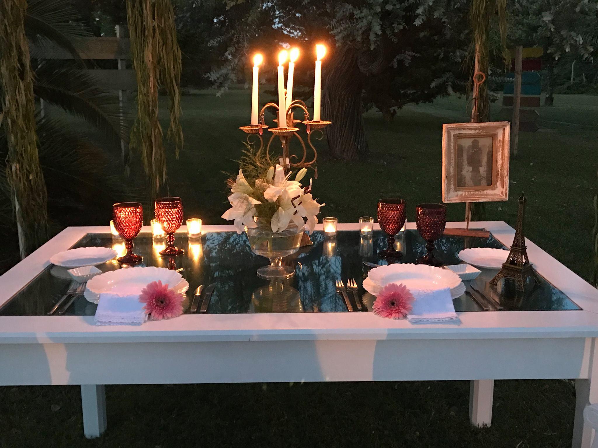 La decoración de las mesas más delicadas y original