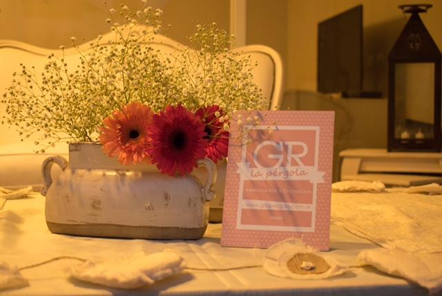 Rincón decorado de manera elegante y original para las fotos. ¡Así tendrás un gran recuerdo de ese día!