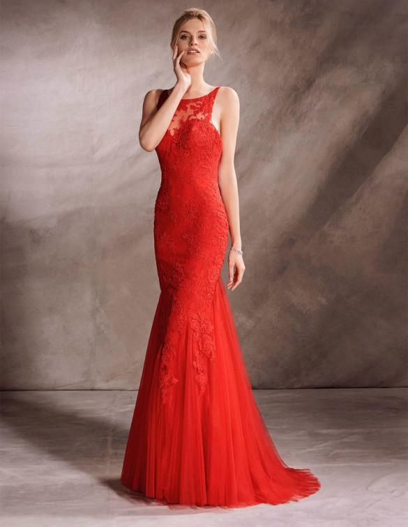 Encajes para completar un vestido de fiesta